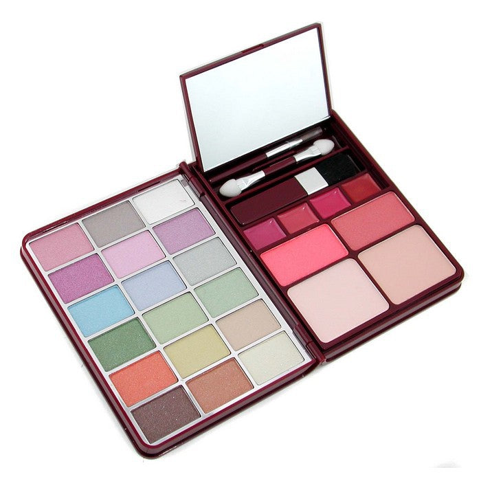 Cameleon MakeUp Kit G0139-1 : 18 Eyeshadow 2 Blusher 2 Pressed Powder 4 Lipgloss