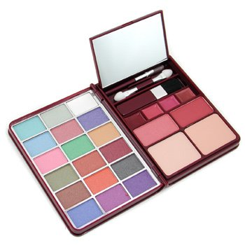 CAMELEON MakeUp Kit G0139 (18x Eyeshadow, 2x Blusher, 2x Pressed Powder, 4x Lipgloss)