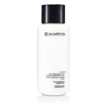 ACADEMIE 100% Hydraderm Gentle Peeling Cleanser 2 in 1 Size: 250ml/8.4oz