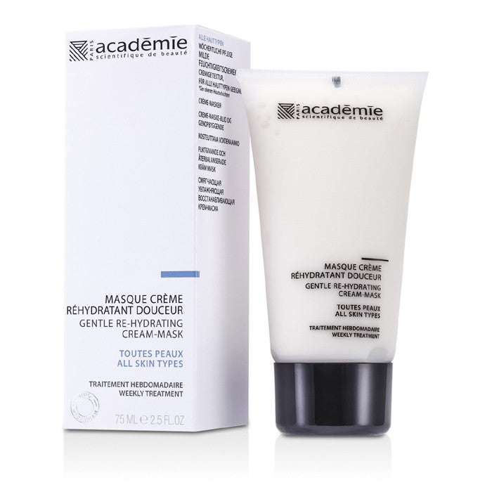 ACADEMIE 100% Hydraderm Gentle Re-Hydrating Cream Mask Size: 75ml/2.5oz