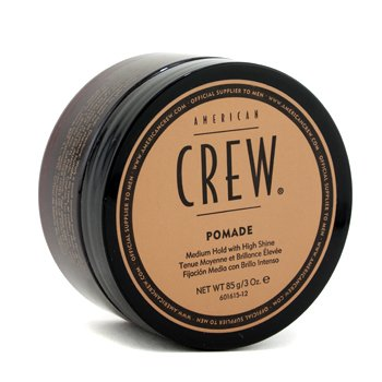 AMERICAN CREW Men Pomade (Medium Hold with High Shine) Size: 85g/3oz
