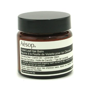 AESOP Violet Leaf Hair Balm (For Unruly, Coarse or Dry Hair) Size: 60ml/2.02oz