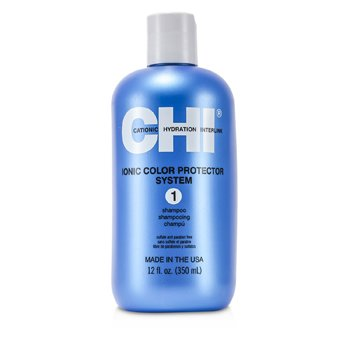 CHI Ionic Colour Protector System 1 Shampoo Size: 350ml/12oz