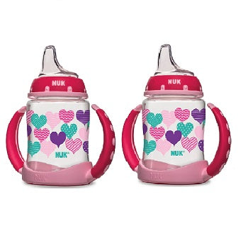 NUK Learner Cup 6+ Months Hearts 1 Cup 5 oz (150ml)