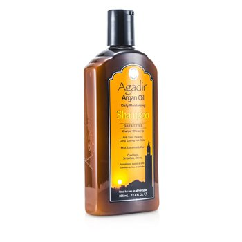 AGADIR ARGAN OIL Daily Moisturizing Shampoo (For All Hair Types) 355ML