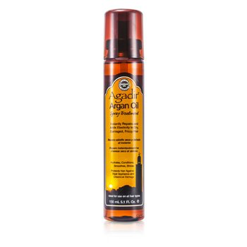 AGADIR ARGAN OIL Hydrates, Conditions, Smoothes, Shine Spray Treatment (For All Hair Types) Size: 150ml/5.1oz