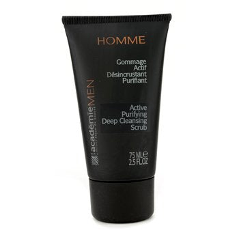 ACADEMIE Men Active Purifying Deep Cleansing Scrub Size: 75ml/2.5oz