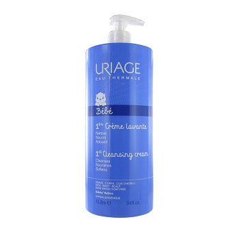 Uriage Baby Foaming and Cleansing Cream 1000ml