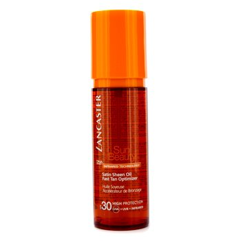 LANCASTER Sun Beauty Satin Sheen Oil Fast Tan Optimizer SPF30 Size: 150ml/5oz