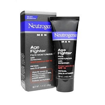 NEUTROGENA Men Age Fighter Face Moisturizer with Sunscreen SPF 15 Size 40g
