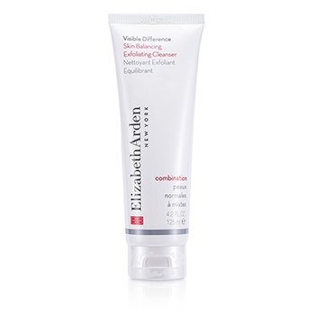 ELIZABETH ARDEN Visible Difference Skin Balancing Exfoliating Cleanser (Combination Skin) Size: 125ml/4.2oz
