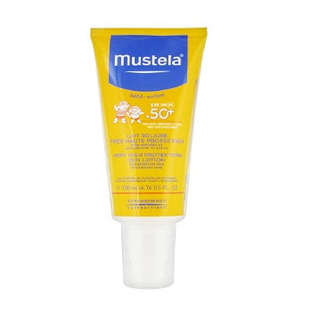 MUSTELA Very High Protection Sun Lotion SPF 50+ Baby Children 200ML