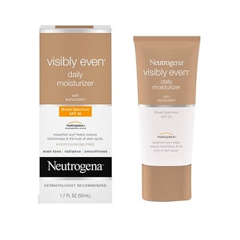 NEUTROGENA Visibly Even Daily Moisturizer with Sunscreen SPF 30 Size 50ML