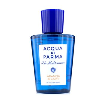 ACQUA DI PARMA Blu Mediterraneo Arancia Di Capri Relaxing Shower Gel (New Packaging) Size: 200ml/6.7oz