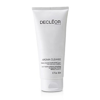 DECLEOR Aroma Cleanse 3 in 1 Hydra-Radiance Smoothing & Cleansing Mousse Size: 200ml/6.7oz