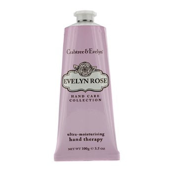 CRABTREE & EVELYN Evelyn Rose Ultra-Moisturising Hand Therapy Size: 100g/3.5oz
