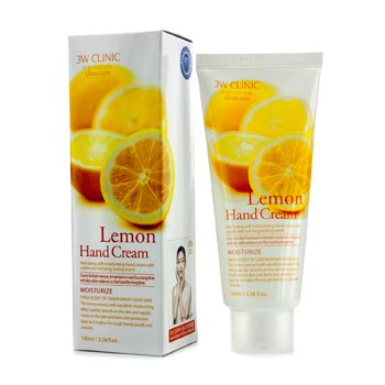 3W CLINIC Hand Cream - Lemon Size: 100ml/3.38oz