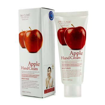 3W CLINIC Hand Cream - Apple Size: 100ml/3.38oz
