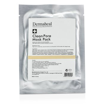 DERMAHEAL Clean Pore Mask Pack Size: 22g/0.7oz