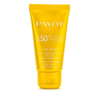 PAYOT Les Solaires Sun Sensi Protective Anti-Aging Face Cream SPF 50+ Size: 50ml/1.6oz