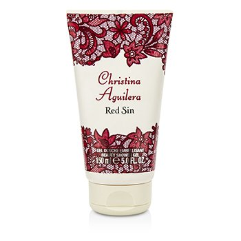CHRISTINA AGUILERA Red Sin Shower Gel Size: 150ml/5oz