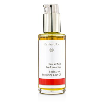 DR. HAUSCHKA Birch-Arnica Energising Body Oil - Revitalises & Warms Size: 75ml/2.5oz