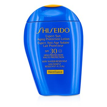 SHISEIDO Expert Sun Aging Protection Lotion WetForce For Face & Body SPF 30 Size: 100ml/3.4oz