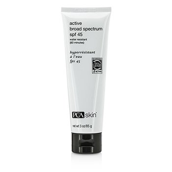 PCA SKIN Active Broad Spectrum With 80 Minutes Water Resistant SPF 45 Size: 85g/3oz