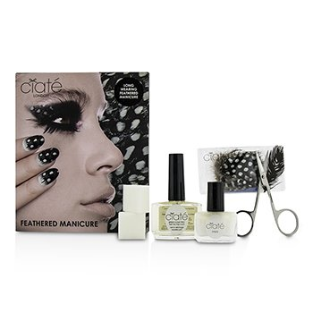 CIATE Feathered Manicure Set What A Hoot