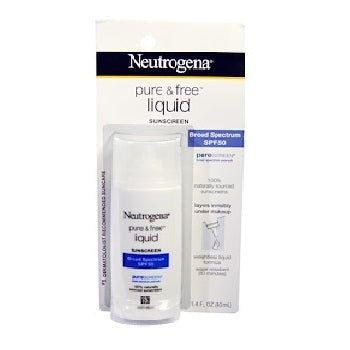 NEUTROGENA Pure & Free Liquid Sunscreen, SPF 50 Size 40ML