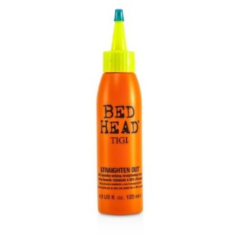 NEW Tigi Bed Head Straighten Out 98% Humidity-Defying Straightening Cream 4oz