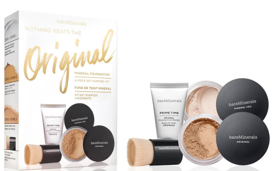 BareMinerals Nothing Beats the Original Mineral Foundation 4 Piece Get Started Kit