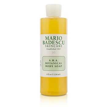 MARIO BADESCU A.H.A. Botanical Body Soap - For All Skin Types Size: 2 x 236ml/8oz