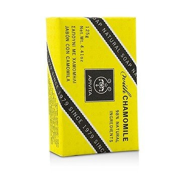 APIVITA Natural Soap With Chamomile Size: 125g/4.41oz