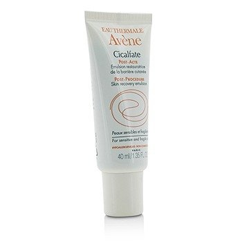 AVENE Cicalfate Post-Procedure Skin Recovery Emulsion - For Sensitive & Fragile Skin Size: 40ml/1.35oz