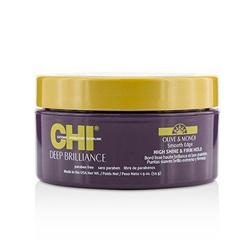 CHI Deep Brilliance Olive & Monoi Smooth Edge (High Shine and Firm Hold) Size: 54g/1.9oz