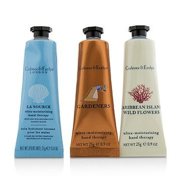 CRABTREE & EVELYN Bestsellers Hand Therapy Set Size: 3x25g/0.9oz