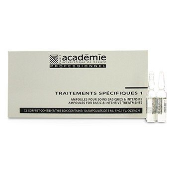ACADEMIE Specific Treatments 1 Ampoules Royal Jelly - Salon Product Size: 10x3ml/0.1oz