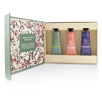 CRABTREE & EVELYN Floral Winter Hand Trio Size: 3x25ml/0.86oz