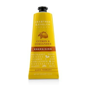 CRABTREE & EVELYN Citron & Coriander Energising Hand Therapy Size: 100ml/3.45oz