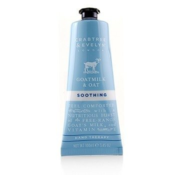 CRABTREE & EVELYN Goatmilk & Oat Soothing Hand Therapy Size: 100ml/3.45oz