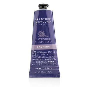 CRABTREE & EVELYN Lavender & Espresso Calming Hand Therapy Size: 100ml/3.45oz