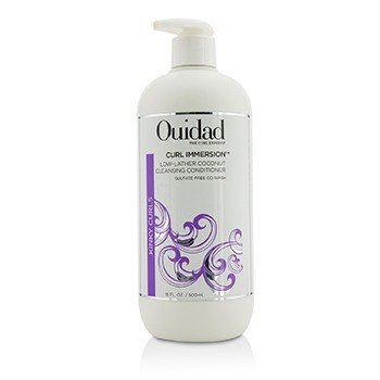OUIDAD Curl Immersion Low-Lather Coconut Cleansing Conditioner (Kinky Curls) Size: 500ml/16oz