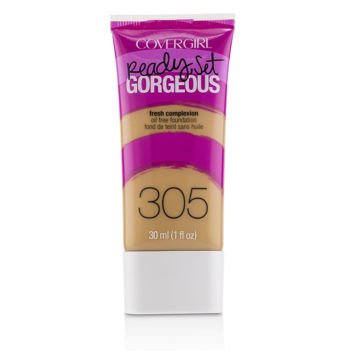 COVERGIRL Ready Set Gorgeous Oil Free Foundation Size: 30ml/1oz