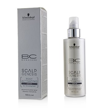 SCHWARZKOPF BC Scalp Genesis Root Activating Serum 100ML + BC Scalp Genesis Root Activating Shampoo 200ML