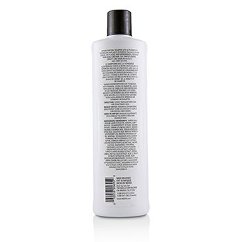 NIOXIN Derma Purifying System 1 Cleanser Shampoo (Natural Hair, Light Thinning) Size: 500ml/16.9oz