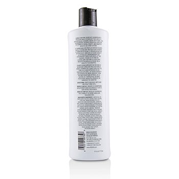 NIOXIN Derma Purifying System 3 Cleanser Shampoo (Colored Hair, Light Thinning, Color Safe) Size: 500ml/16.9oz