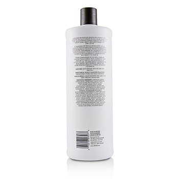 NIOXIN Derma Purifying System 3 Cleanser Shampoo (Colored Hair, Light Thinning, Color Safe) Size: 1000ml/33.8oz