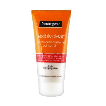 NEUTROGENA Visibly Clear Black Spots Scrub Cleansing Cream 2x150ML