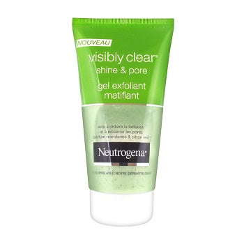 NEUTROGENA Visibly Clear Shine & Pore Exfoliating Matifying Gel 3x150ML